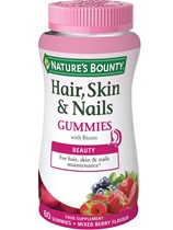 Hair Skin Nails Gummies